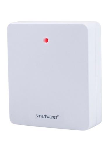 Smartwares Akıllı Ev İç Mekan Kablosuz Priz 460W'a kadar Beyaz – Sinyal Alıcı Renkli